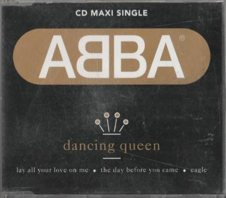 ABBA - Dancing Queen CD Maxi Lay All Your Love On Me