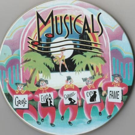 Musicals CD Grease Evita Cats Cabaret Fame