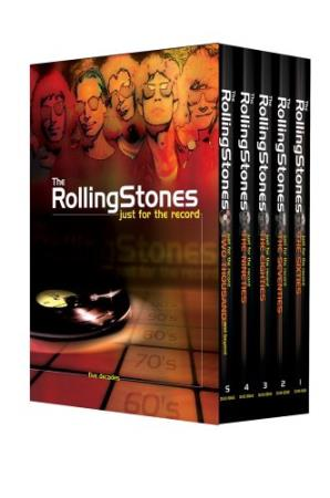 Rolling Stones- Just For The Record - Five Decades - 5xDVD