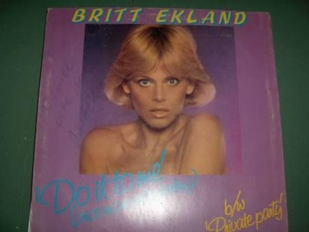 Britt Ekland:  Do It To Me (Once More With Feeling)