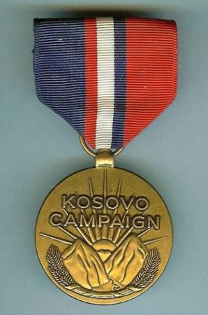 Kosovo Campaign Medal (KCM) - In Defense of Humanity