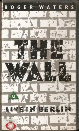 Roger Waters - The Wall: Live In Berlin 1990 - VHS The Band