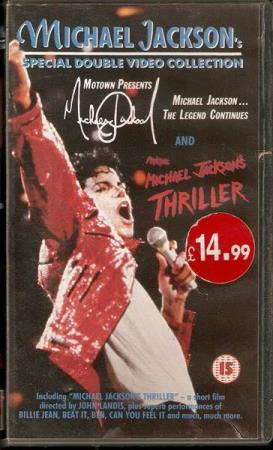 Michael Jackson - Special Double Video Collection - 2xVHS
