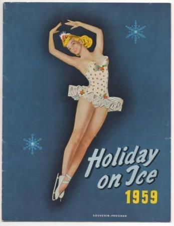 Program Holiday on Ice 1959