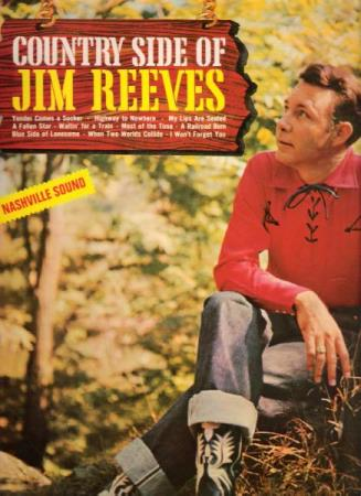 JIM REEVES.-THE COUNTRY SIDE OF JIM REEVES.