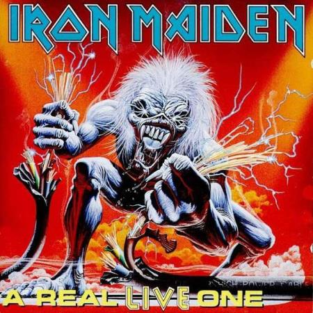 Iron Maiden - A Real LIVE One - CD
