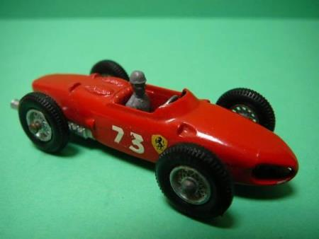 Ferrari Racing Car with Driver - Matchbox Lesney No. 73b