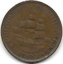Syd-Africa 1/2 penny 1930