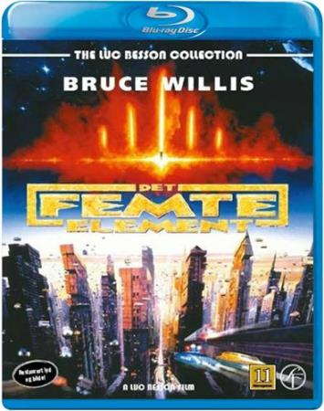 DET FEMTE ELEMENT (THE FIFTH ELEMENT) (1997) (BLU-RAY)