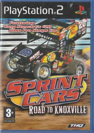 Sprint Cars Road to Knoxville PS2 Playstation 2
