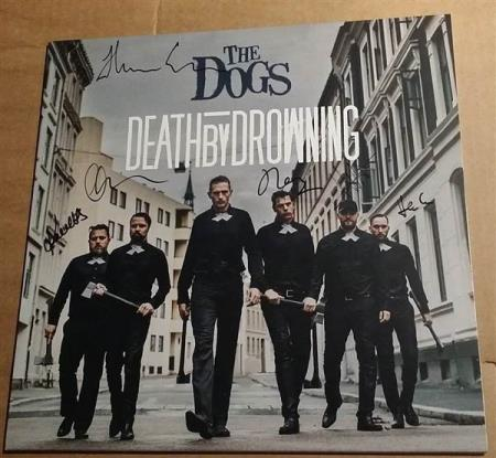 The Dogs - Death By Drowning - LP Signert + Nummeret