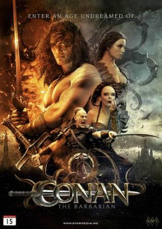 CONAN THE BARBARIAN (2011) (JASON MOMOA) (DVD)