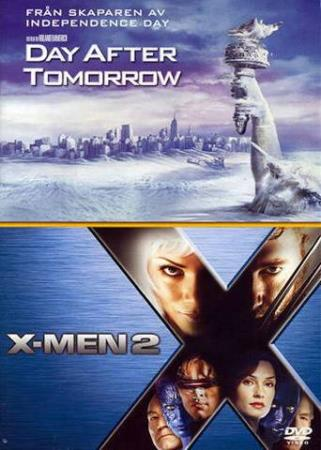 THE DAY AFTER TOMORROW/X-MEN 2 (2 DISC) (TWIN PACK) (DVD)
