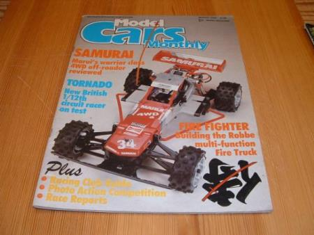 MODEL CARS MOTHLY - MARCH 1986