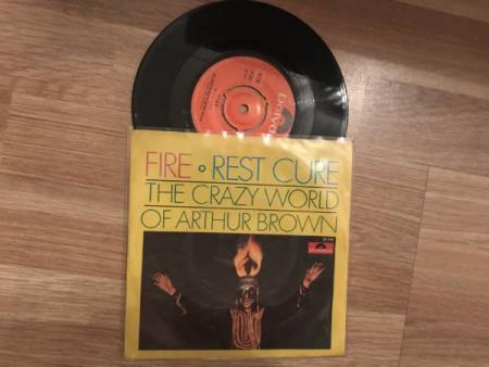 THE CRAZY WORLD OF ARTHUR BROWN/FIRE EX 68 NORSK 59215