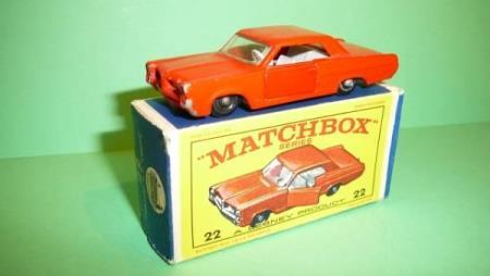 Pontiac GP Sports Coupé - Matchbox Lesney No. 22