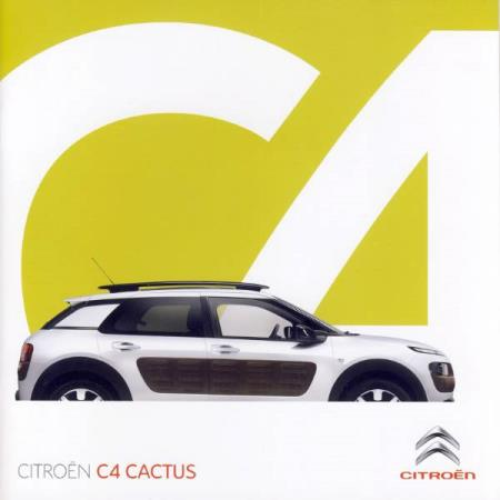 Citroen C4 Cactus brosjyre 06 / 2014 AT