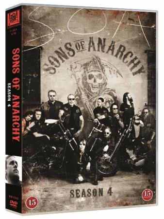 SONS OF ANARCHY - SESONG 4 (2011) (4 DISC) (DVD)