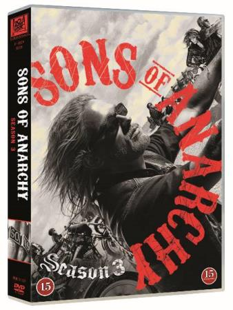 SONS OF ANARCHY - SESONG 3 (2010) (4 DISC) (DVD)