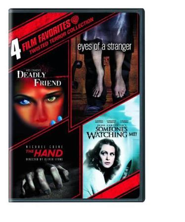 4 FILM FAVORITES - TWISTED TERROR COLLECTION (4 DISC) (DVD)