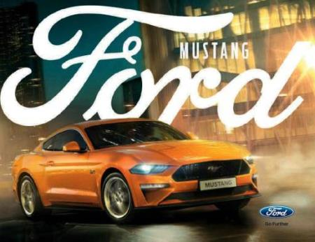 Ford Mustang brosjyre 09 / 2017 PL