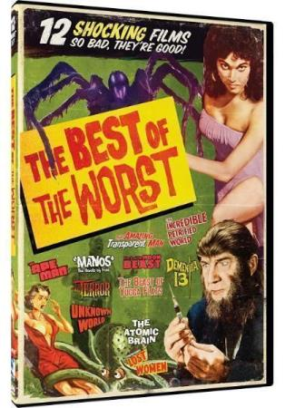 THE BEST OF THE WORST - 12 HORROR MOVIE COLLECTION (DVD)