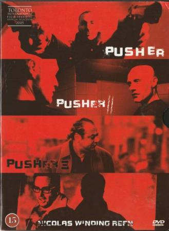 Pusher triologien DVD Pusher 1, 2, 3 samleboks