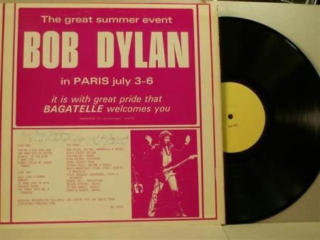 Bob Dylan ‎– The Great Summer Event
