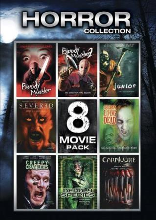 HORROR COLLECTION - 8 MOVIE PACK (2 DISC) (DVD)