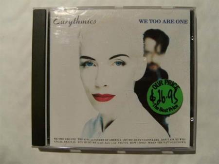 Eurythmics - We Too Are One (EX+)