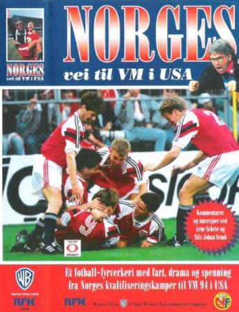 NORGES VEI TIL VM I USA.-1993.-HERE WE COME.