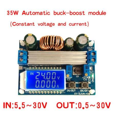 0.5V-30V BUCK BOOST AUTOMATIC STEP-DOWN / STEP-UP POWER