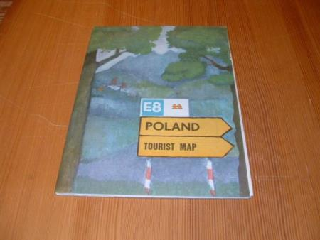 POLAND - TOURIST MAP - 1972
