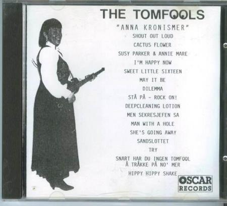 5001 The Tomfools Anna Kronismer Norges 1. indi-CD 1991 NY