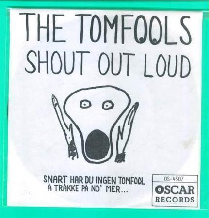 4507 The Tomfools Shout Out Loud Oscar 1989 NY