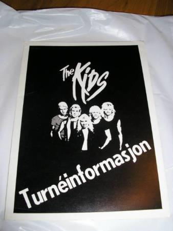 The Kids  - Turne Promo Mappe