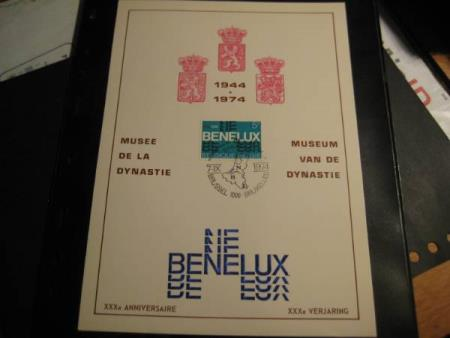 Belgia  1974 Be Ne Lux