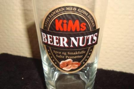 Ølglass-Kims Beer Nuts