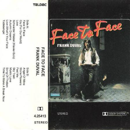 FRANK DUVAL.-FACE TO FACE.-1982.