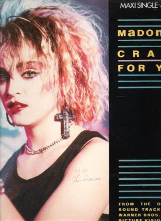 MADONNA.-CRAZY FOR YOU-I;LL FALL IN LOVE AGAIN.-1985.