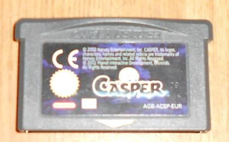 Casper Nintendo Gameboy Advance