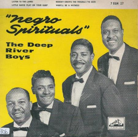 The Deep River Boys ‎– Negro Spirituals