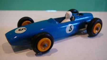 BRM Racing Car with Driver - Matchbox Lesney No. 52b