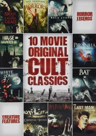 10 FILM HORROR CULT CLASSIC COLLECTION (2 DISC) (DVD)