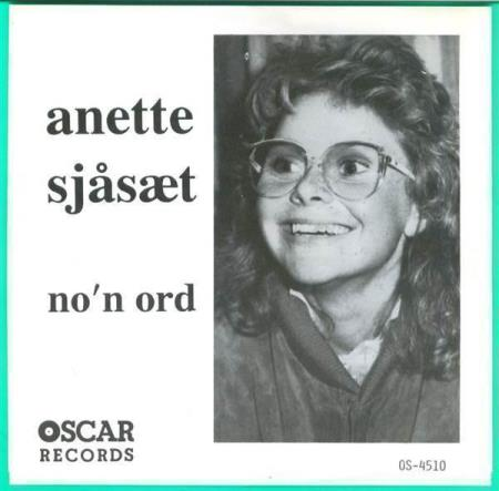 4510 Anette Sjåsæt Non ord Love Is Now Oscar 1992 NY