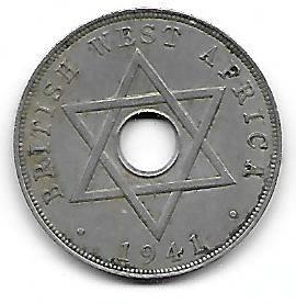 British West-Africa 1 penny 1941
