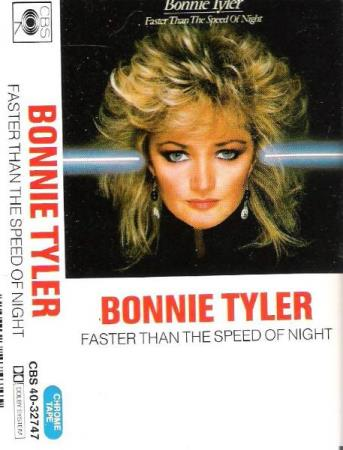 BONNIE TYLER.-FASTER THAN THE SPEED OF NIGHT.-1983.