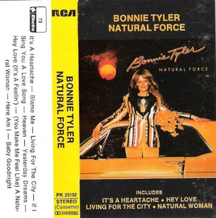 BONNIE TYLER.-NATURAL FORCE.-1978.