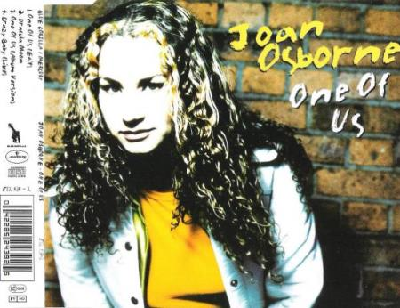 JOAN OSBORNE.-ONE OF US.-CRAZY BABY-DRACULA MOON.-1995. - Notodden - FIN CD SINGEL.  - Notodden