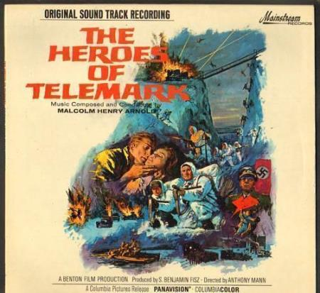THE HEROES OF TELEMARK - MALCOLM HENRY ARNOLD